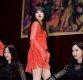 [ST포토] 유니티 앤씨아, '강렬한 레드 원피스 입고'