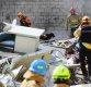 [포토]용산 4층 건물 완전히 붕괴