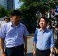 [포토]용산 붕괴 현장 파악하는 안철수 바른미래당 서울시장 후보