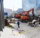 [포토]용산 건물 와르르 붕괴