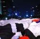 [ST포토] '광화문광장에 등장한 대형태극기'