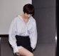 [ST포토] 전수진, '조심스러운 발걸음'