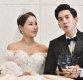[ST포토] 미나-류필립, '결혼식 축하 갑사합니다'