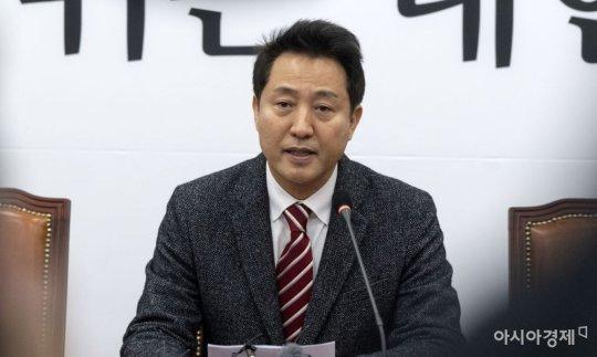 '보이콧 공조' 깨진 한국당 당권주자, 오세훈 출마선언