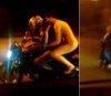 나체로 오토바이 타고 도로 질주한 여성