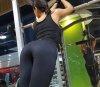 문세림, 운동복 속 풍만한 힙라인