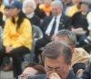 문재인, 제주일정 취소…유세차량 사고 사망자 조문