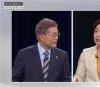 심상정 확바뀐 토론 태도…文에 호위병 劉에 질문 폭격