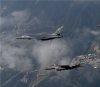 한달만에 다시 날아온 B-1 폭격기는