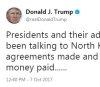 트럼프, 북한에 효과 있을 단 한가지는 \