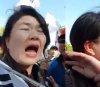 """(영상)""""포항 지진은 하늘의 경고"""" 류여해, 과거 태극기 집회서 '봉변' 재조명"""