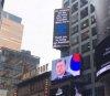 뉴욕 타임스퀘어에 뜬 '문재인 대통령 생일축하 광고'