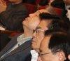 인사말 하고 떠난 洪·조는 의원들…한국당 연찬회 진풍경
