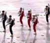 평창 동계올림픽 개막 알리는 남북 태권도 시범단