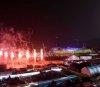평창에 밤하늘 밝히는 화려한 개막 불꽃