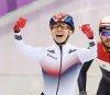 임효준, 쇼트트랙 男1500m서 한국 선수단 첫 금메달(종합)