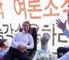 단식중단 설득하는 김무성