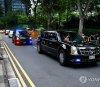 트럼프·김정은이 탑승한 차량은?…캐딜락 원, '달리는 백악관'으로 불리기도
