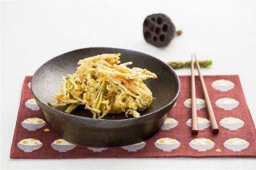 「오늘의 레시피」뿌리채소튀김
