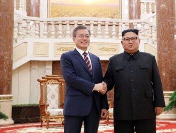 남북정상, 첫날 2시간 '비핵화 담판'