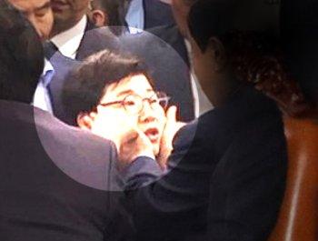 """""""문희상이 성추행""""…한국당이 주장한 문제의 장면"""