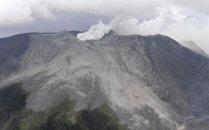 연기로 뒤덮힌 日 가고시마<br>화산섬…입산규제 유지