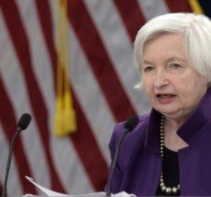 """옐런 Fed 의장 """"트럼프 3% 경제성장률 달..."""