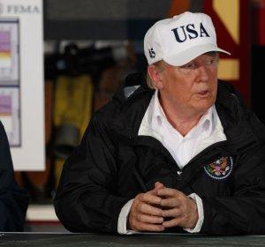 """백악관 """"트럼프, 허리케인 피해 텍사스에..."""