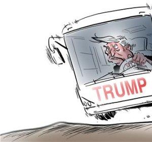[트럼프의 전횡]사고치는 트럼프…발언 뒷수습...