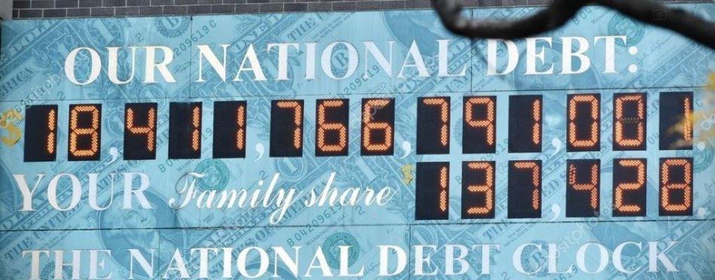 초당 2만달러씩 늘어난다는 美 부채, 전부 얼마나 될까?