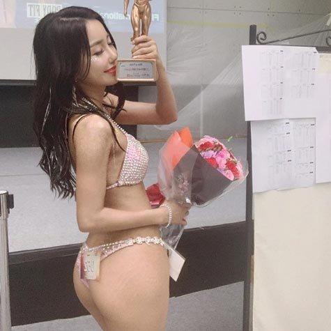 '걸그룹 출신 머슬퀸'