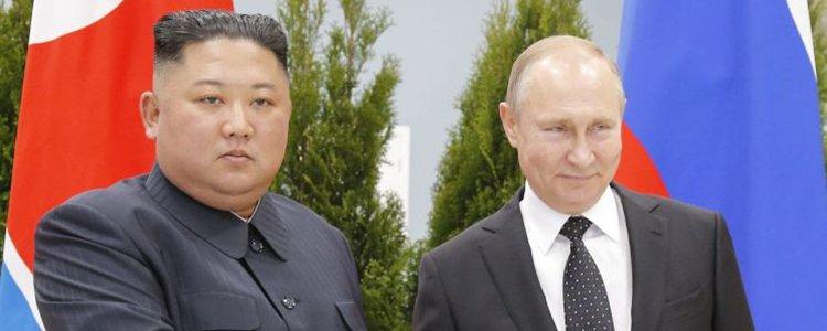 북·러정상회담 종료…김정은, 회담장 떠나
