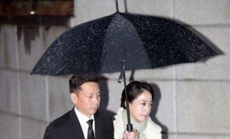 [포토] 정주영 명예회장 제사 참석하는 노현정