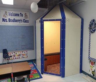 [씨쓰루 숨은그림찾기] 미국 초등학교에 있는 시설
