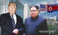 """美 10명중 7명 """"북미정상회담 좋은 생각""""…트럼프 지지율 상승"""