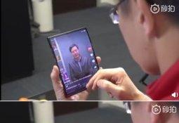 샤오미 폴더블폰 깜짝 공개…'양쪽 동시 접어'