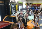 [포토] 레이싱 모델, 넘치는 볼륨감…서울오토살롱 개최