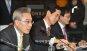 [포토]하영구 은행연합회장, '은행산업 발전 토론회' 참석