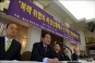 [포토]북핵폐기 서명운동 나서는 보수단체