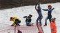 [포토] 스키 시합 대신 눈싸움