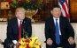 [포토] 찡그린 트럼프, 미소짓는 시진핑