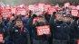 영하 칼바람에도 투쟁, 금호타이어 노조 상경 파업