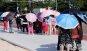 [포토] '마른 하늘에 우산 행렬'