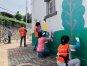 벽화로 깨끗한 마을 만들어요!