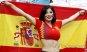 [포토] 스페인 미녀 '열정적인 응원'