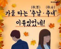 가을 타는 '추남(秋男)ㆍ추녀(秋女)' 이유있었네!