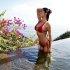 아리아니 셀레스티, 육감 몸매 드러낸 끈비키니 자태