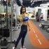 레이양 헬스장서 과감한 운동복…놀라운 글래머 몸매