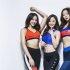최설화·공민서·손소희, 스포츠웨어 미공개컷 공개