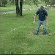물침대 잔디밭